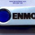 Graviranje laserom na metalnim USB memorijama